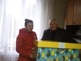 Наразі вже 5 молодих родин з Кореччини отримало свої «бейбі-бокси»