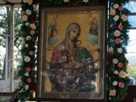 Отченашівська ікона Божої Матері, згідно графіку, продовжує подорожувати містами та селами Рівненської єпархії.