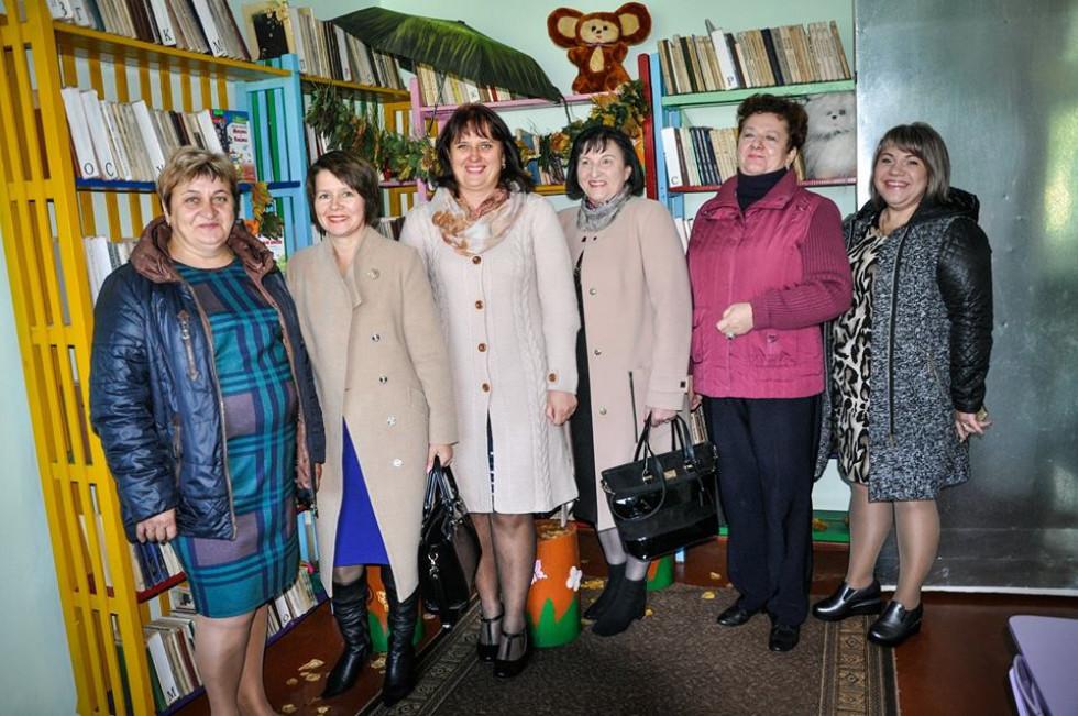 Бібліотекарі з району