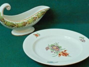 Корець. Соусниця та тарілка. 1810 рр.