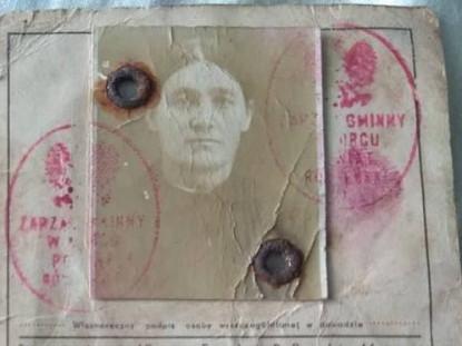 Паспорт жительки Корця