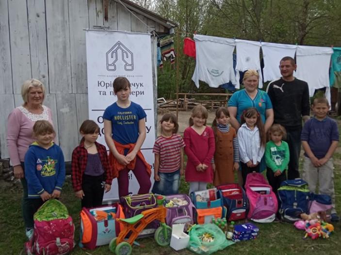Багатодітна сім`я у селі Франкопіль