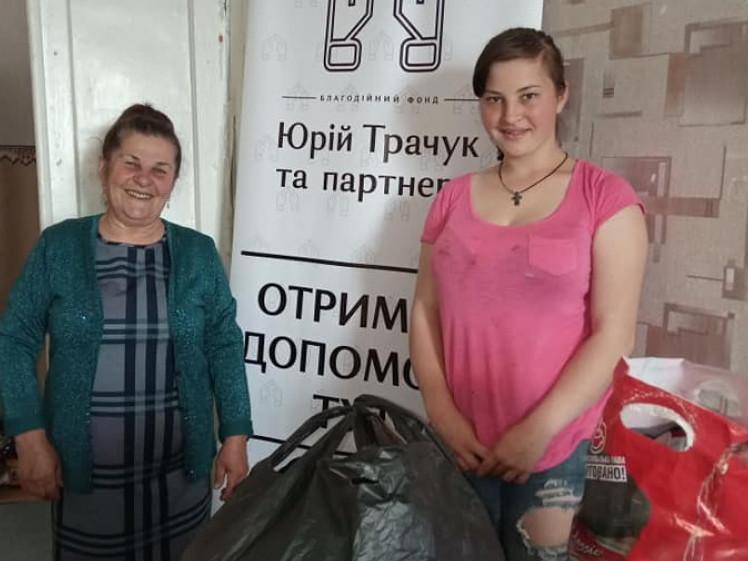 Жителі Кореччини отримали благодійну допомогу