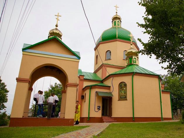 Свято-Воскресенський храм у Корці