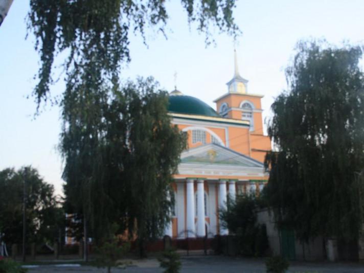 Свято-Миколаївсьа церква міста