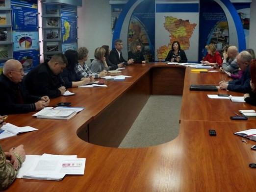 Засідання обласного організаційного штабу