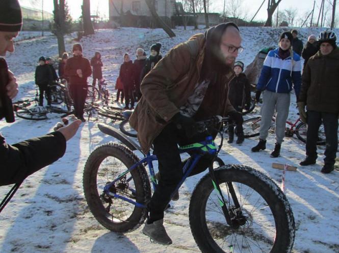 І етап Кубку «Велошок-2020»: результати зимового велокросу