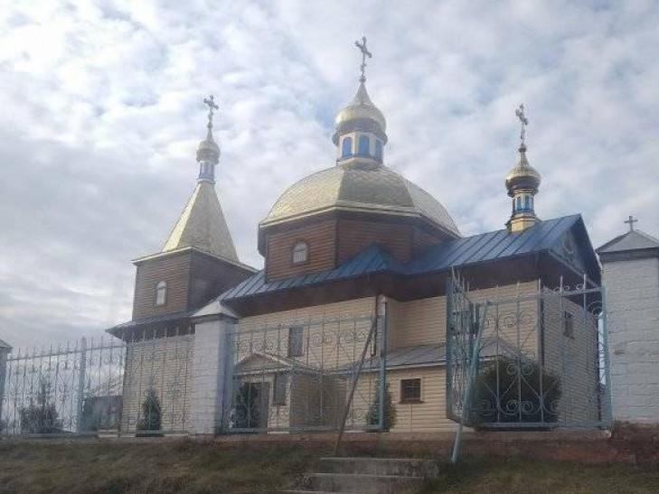 с. Щекичин, місцевий храм