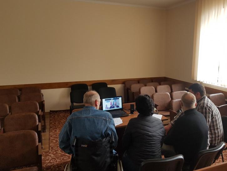 Спілкування у режимі онлайн: Корець і Валча ділилися досвідом