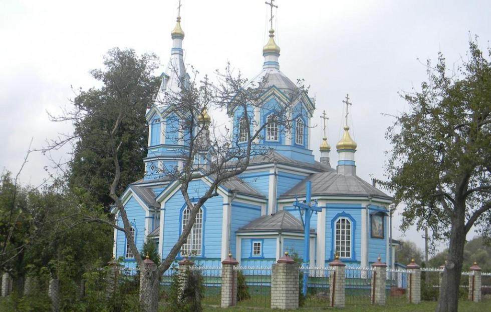 Свято-Миколаївська церква с.Сапожина
