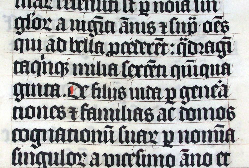 готичний шрифт