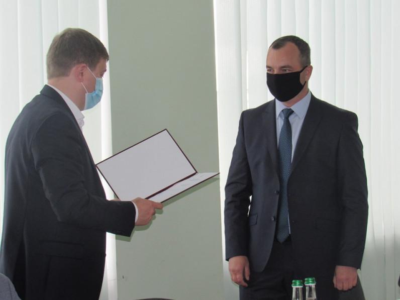У районі представили голову райдержадміністрації