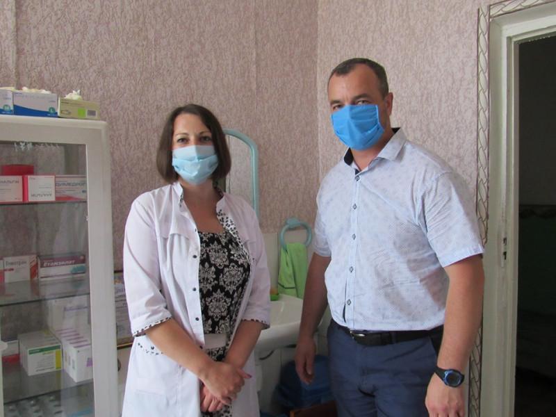 Корецька підстанція екстреної (швидкої) медичної допомоги: голова РДА відвідав заклад