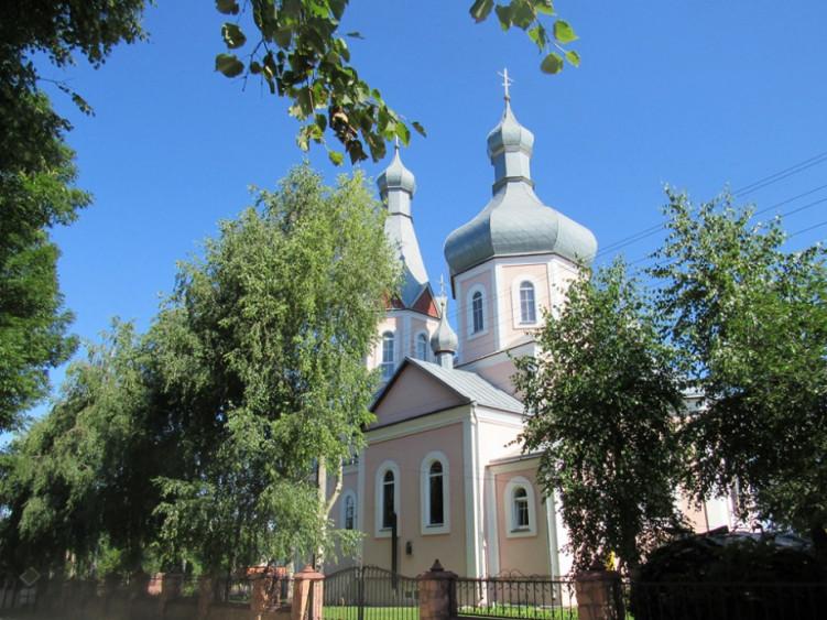 Свято-Іллінський храм (с. Гвіздів)