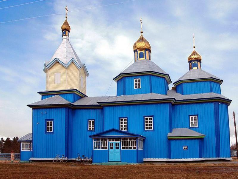 Свято-Михайлівська церква (с. Сторожів)