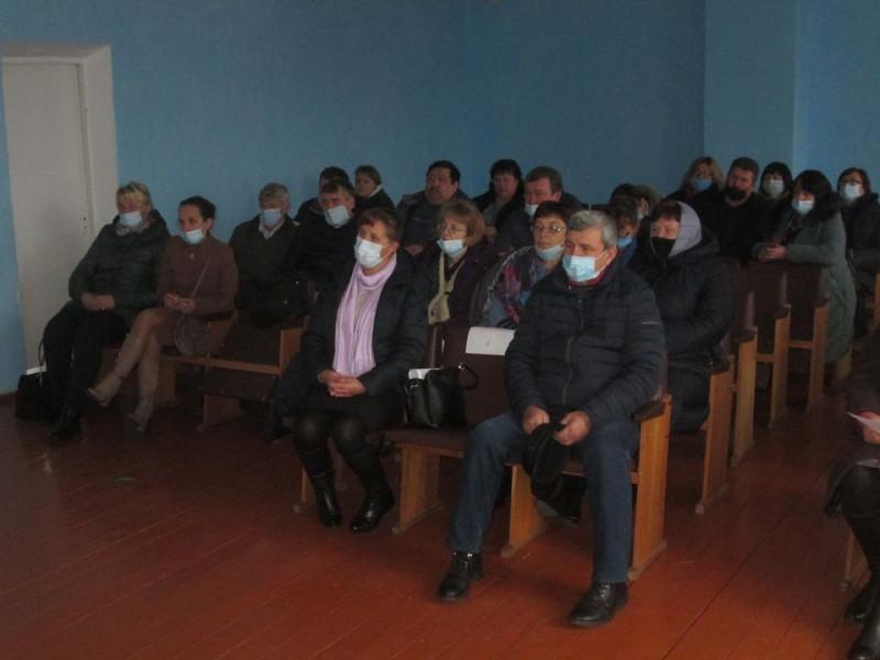 Під час сесії Великомежиріцької сільської ради