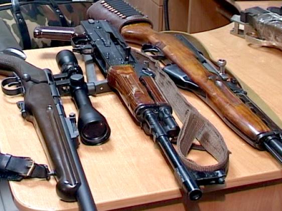 Добровільна здача зброї на Кореччині