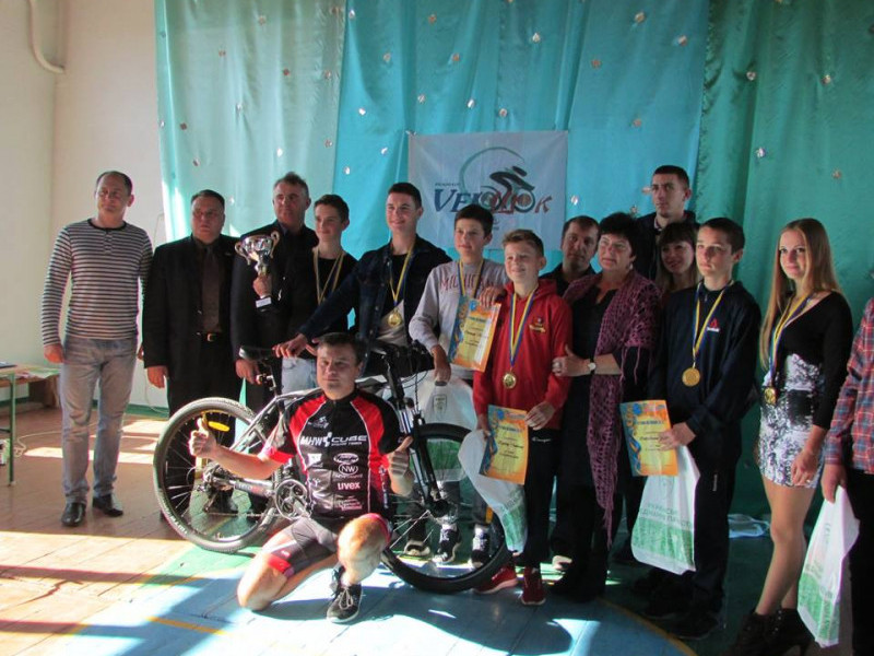 Найкращі велосипедисти Кореччини