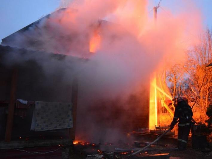 На Кореччині трапилася пожежа