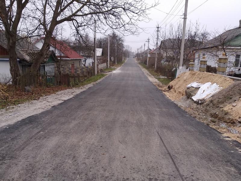 Дорога на вул. Пушкіна