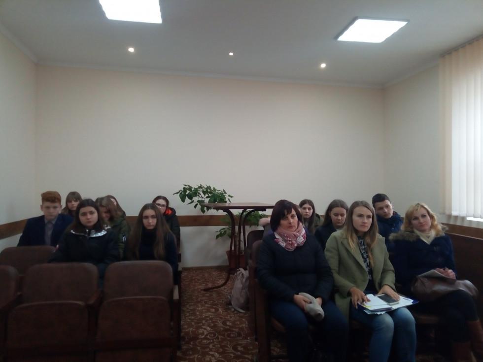 На засіданні