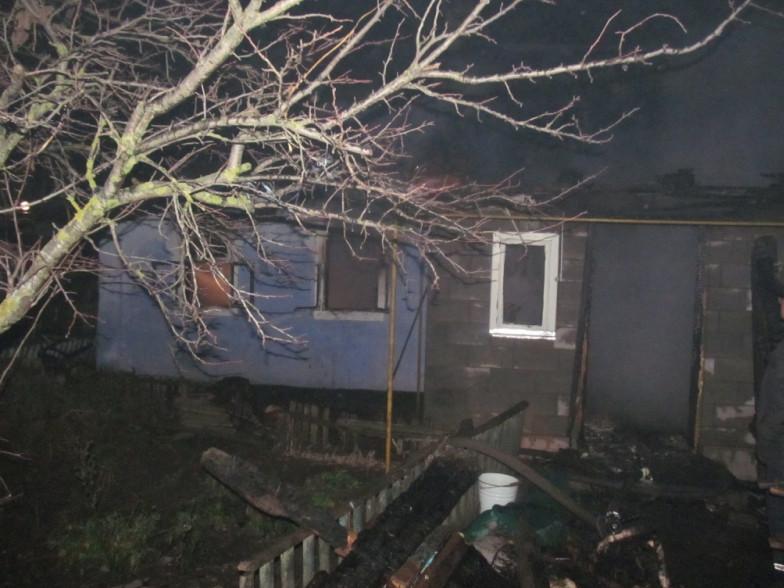 У Новому Корці під час пожежі загинула людина