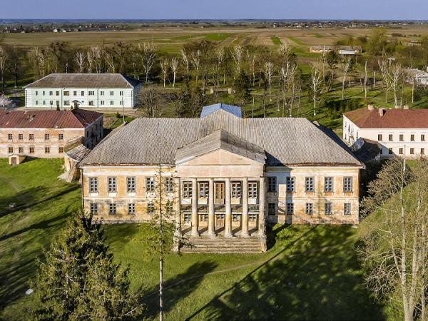 Палац Стецьких у Великих Межирічах