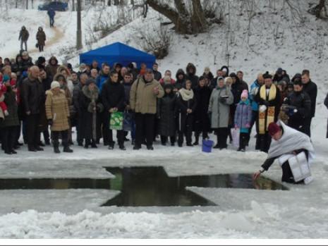 Святкування на річці Корчик