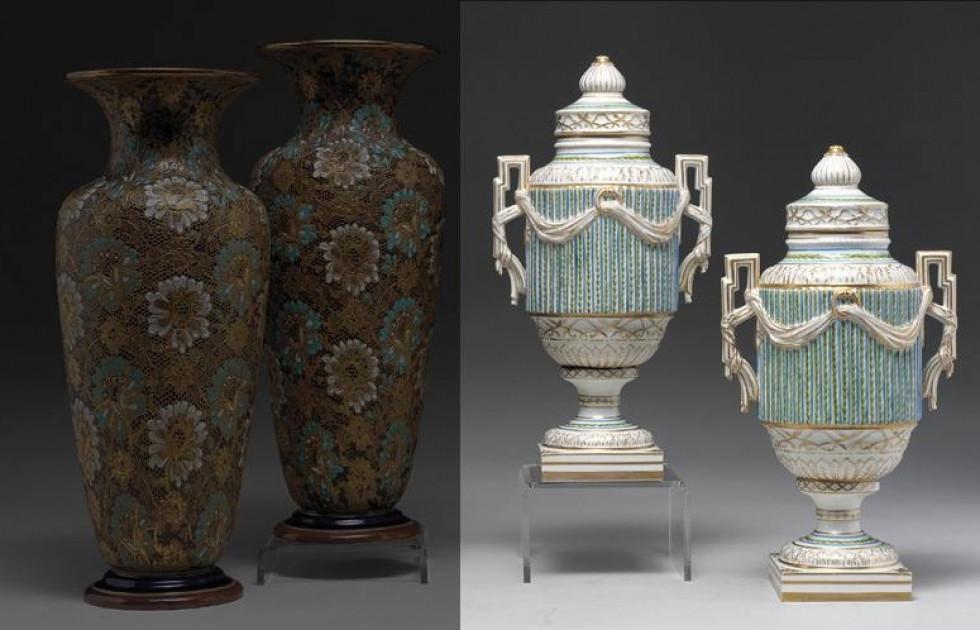 Корецькі порцелянові вази