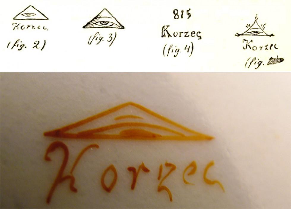 Маркування Корецької порцеляни