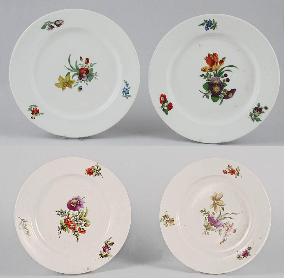 Посуд з Корецької порцелянової фабрики