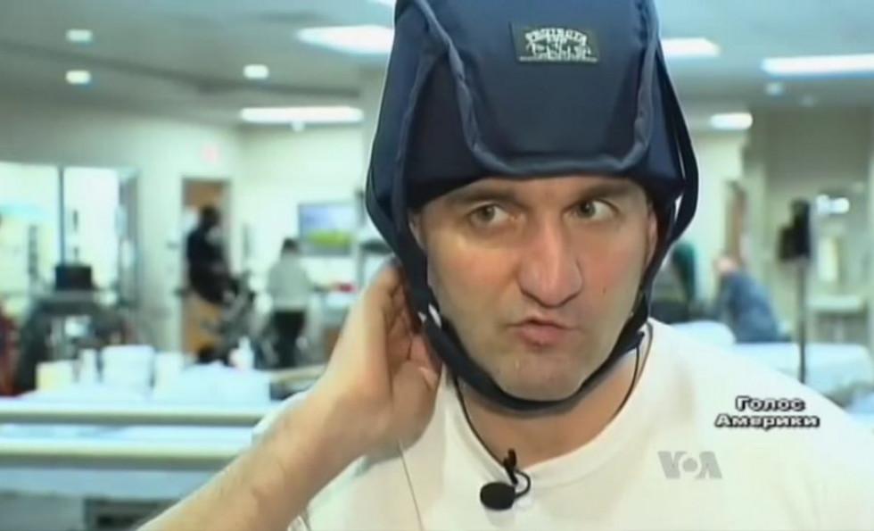 Гордійчук під час реабілітації у США