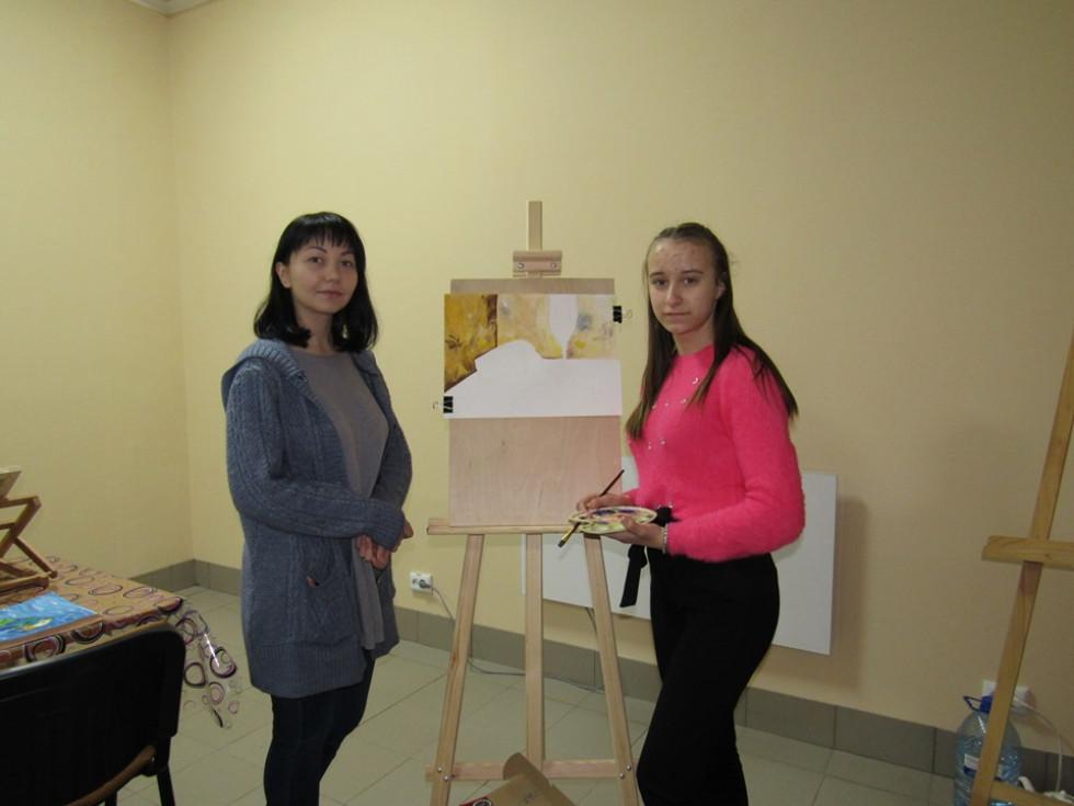 Із викладачкою Анастасією Фасаховою