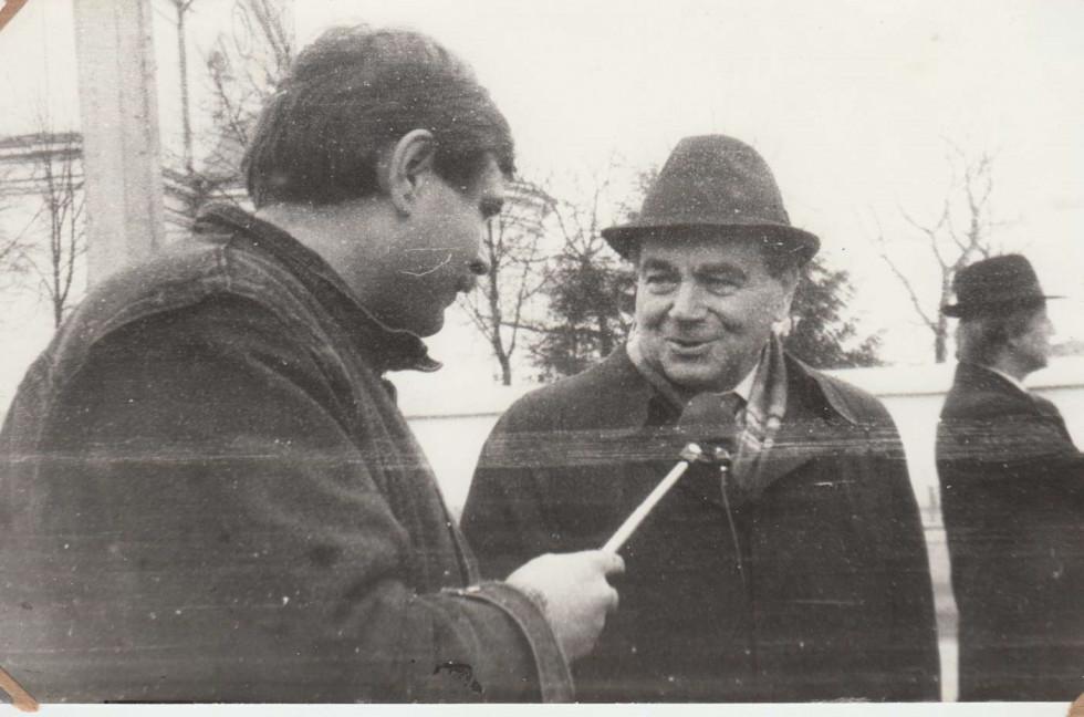 З Миколою Плав'юком