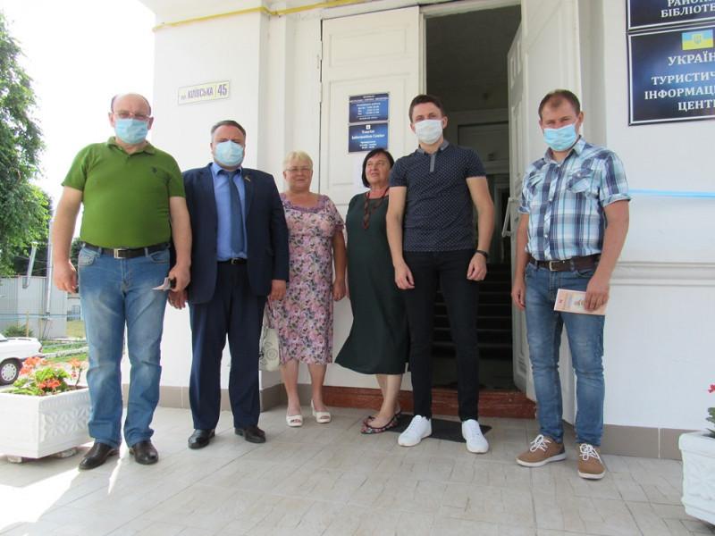Мандрівникам у Корці допоможе туристичний центр
